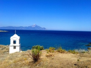 Sarti-view-at-mount-Athos